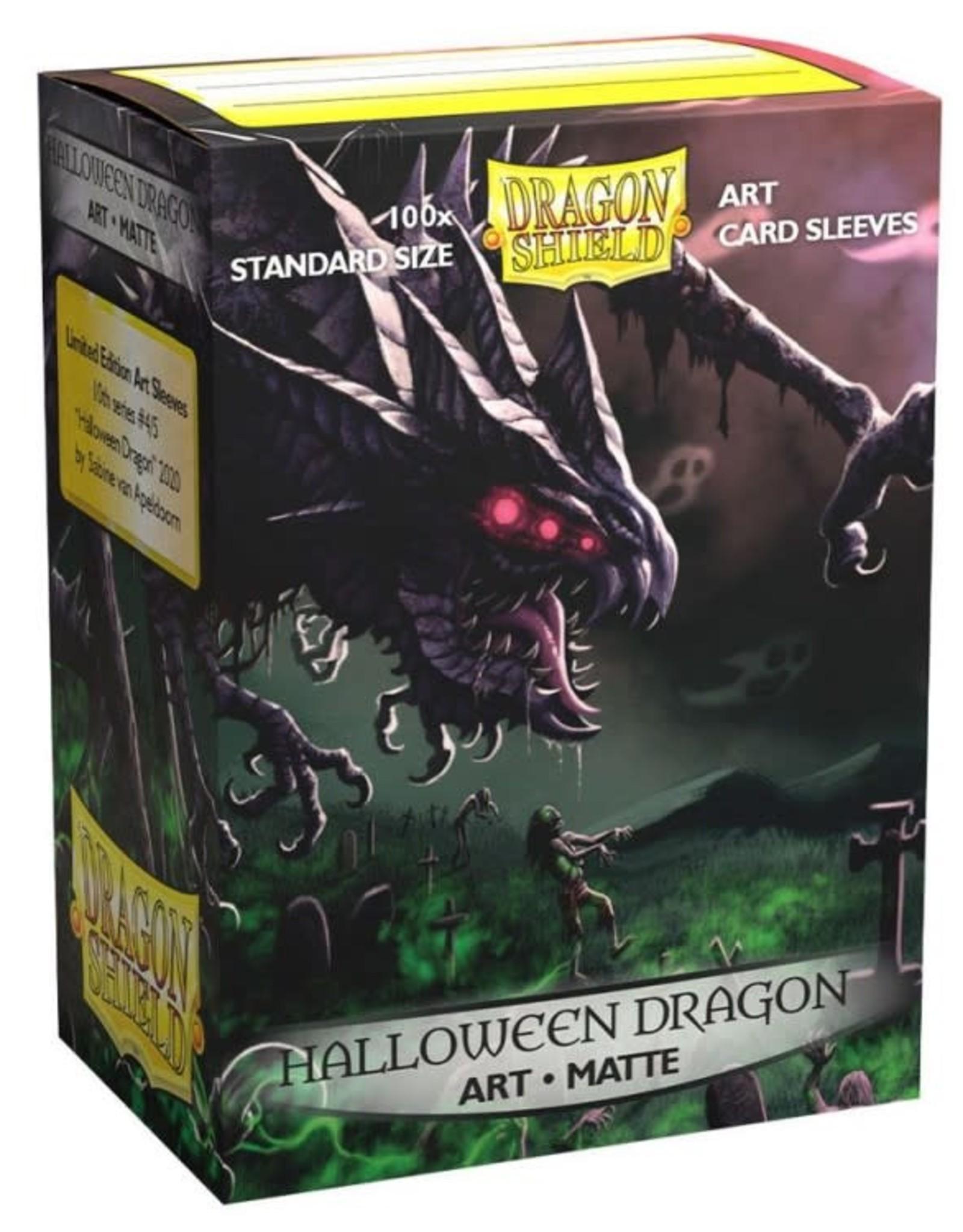 Arcane Tinmen Dragon Shield Art Matte: Halloween Dragon (100)