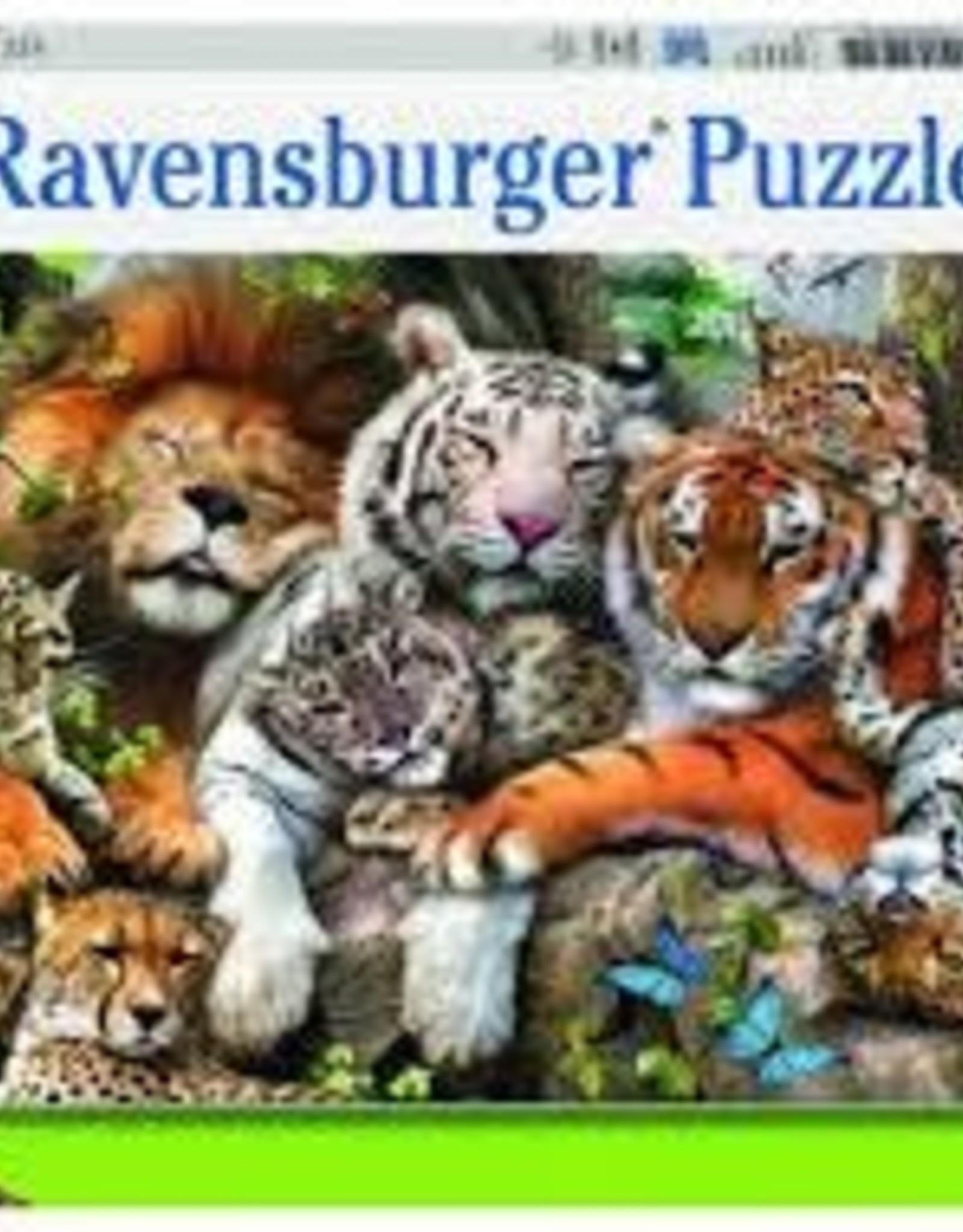 Ravensburger 200pc XXL puzzle Big Cat Nap