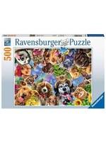 Ravensburger 500pc puzzle Animal Selfie