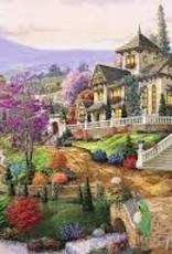 Ravensburger 500pc puzzle Hillside Retreat