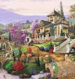 Ravensburger 500pc puzzle Hillside Retreat