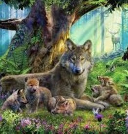Ravensburger 1000pc puzzle Wolves in the Forest