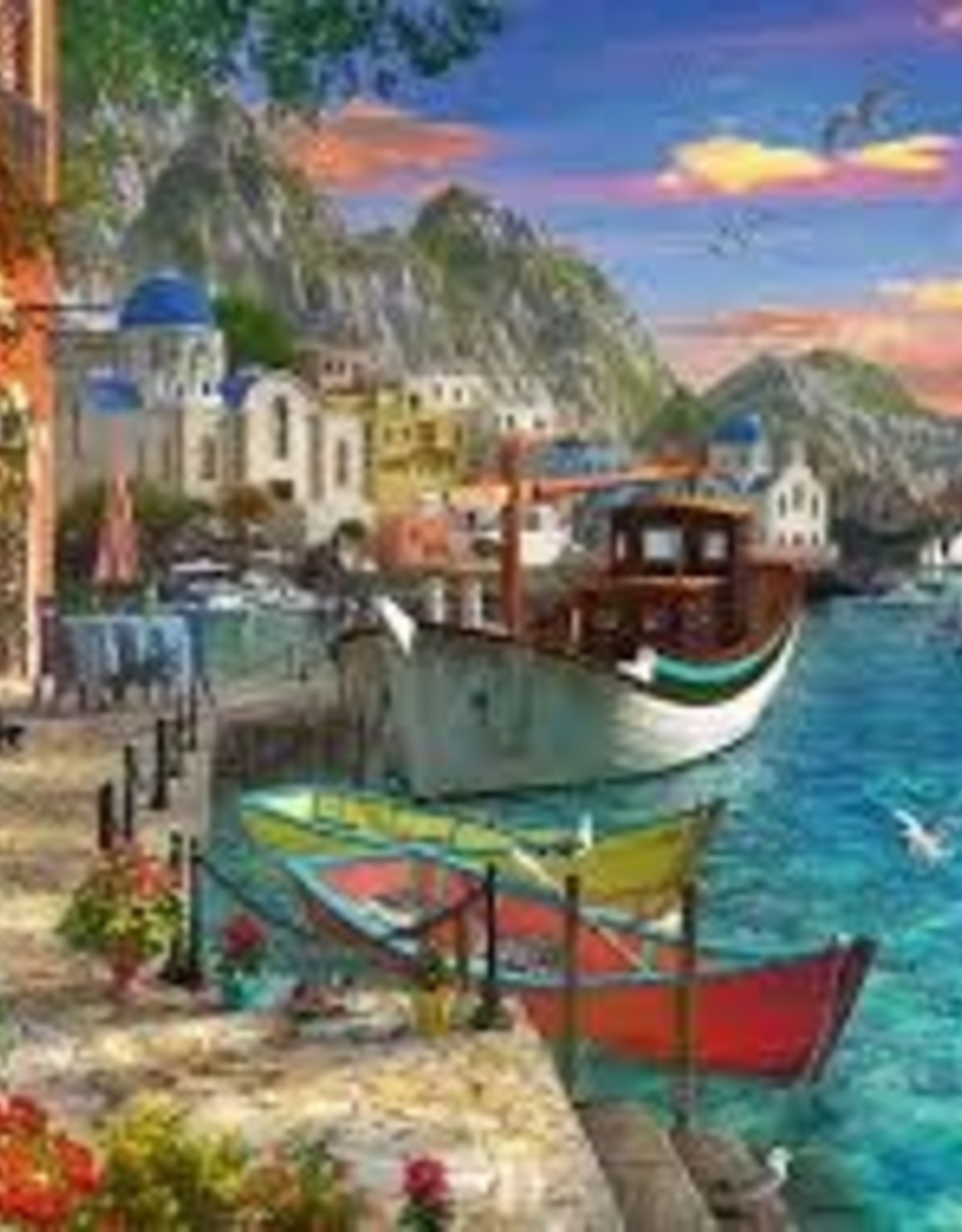 Ravensburger 1000pc puzzle Grandiose Greece