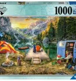 Ravensburger 1000pc puzzle Calm Campsite