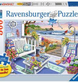 Ravensburger 300pc LF puzzle Seaside Sunshine