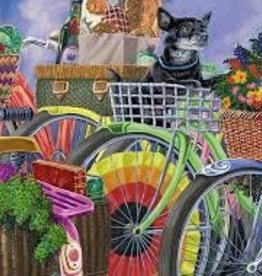 Ravensburger 300pc LF puzzle Bicycle Group