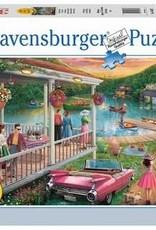 Ravensburger 300pc LF puzzle Summer Lake