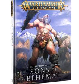 Games Workshop BATTLETOME: SONS OF BEHEMAT (HB) (ENG)