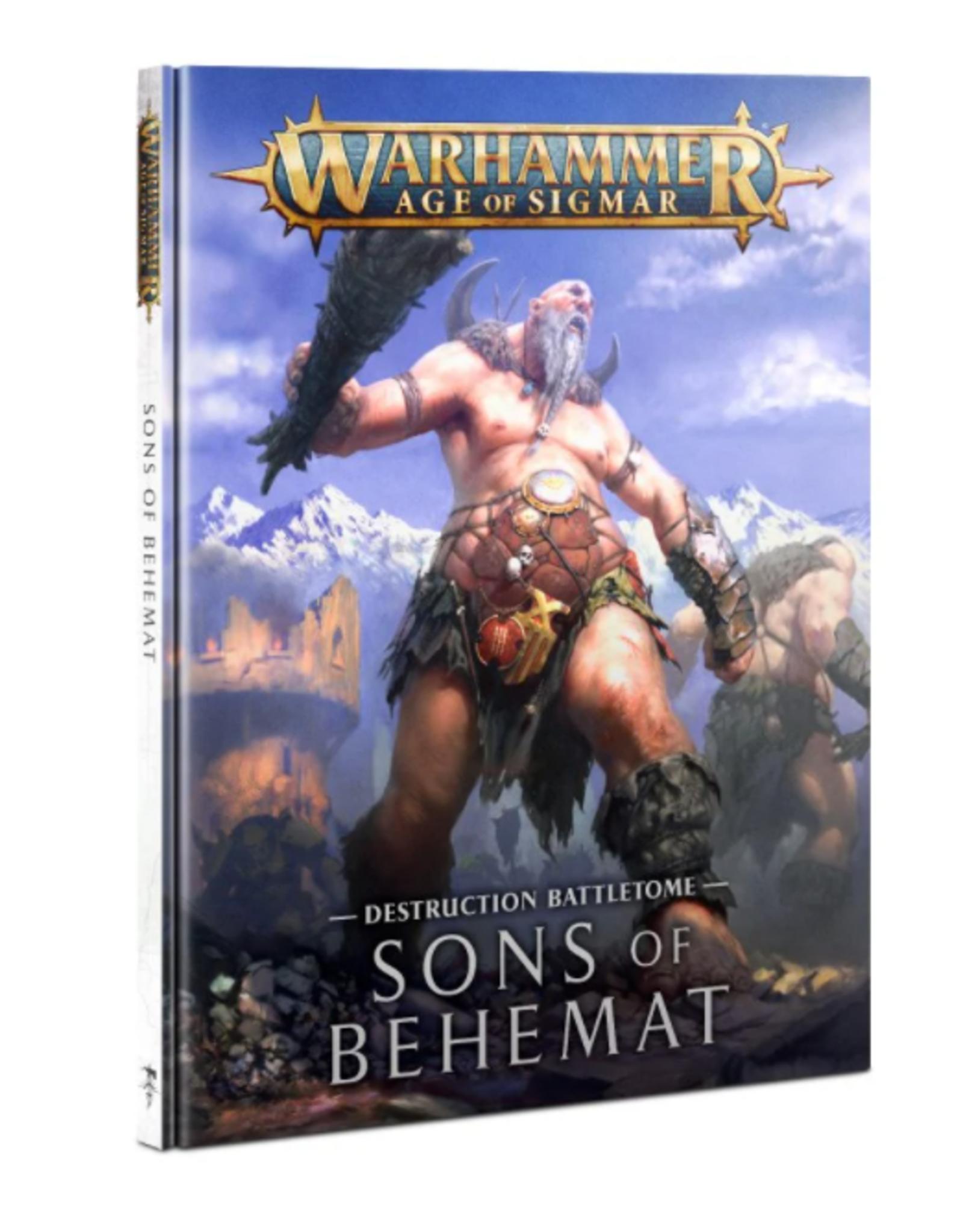 Games Workshop Sons of Behemat Battletome