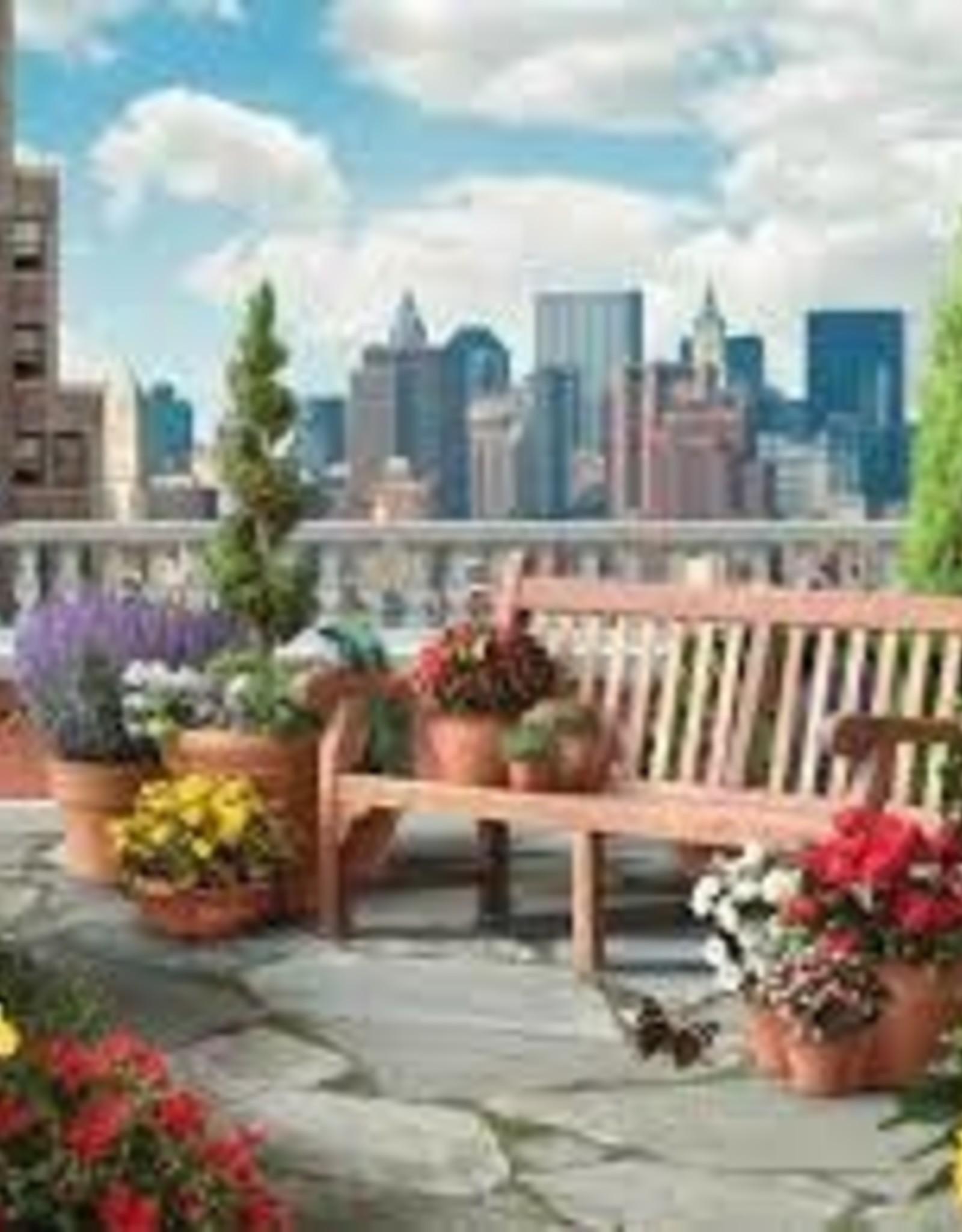 Ravensburger 500pc LF puzzle Rooftop Garden