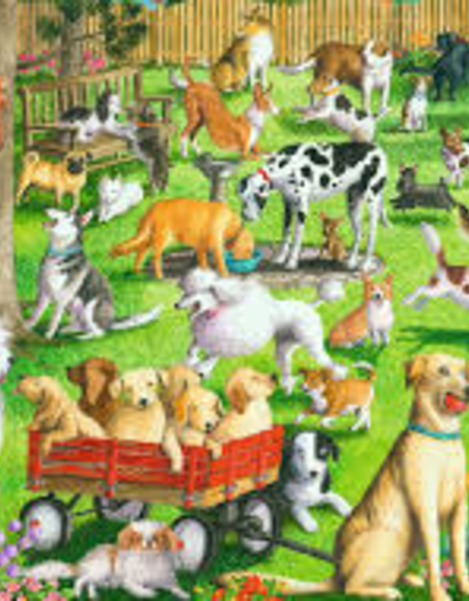 Ravensburger 500pc LF puzzle At the Dog Park