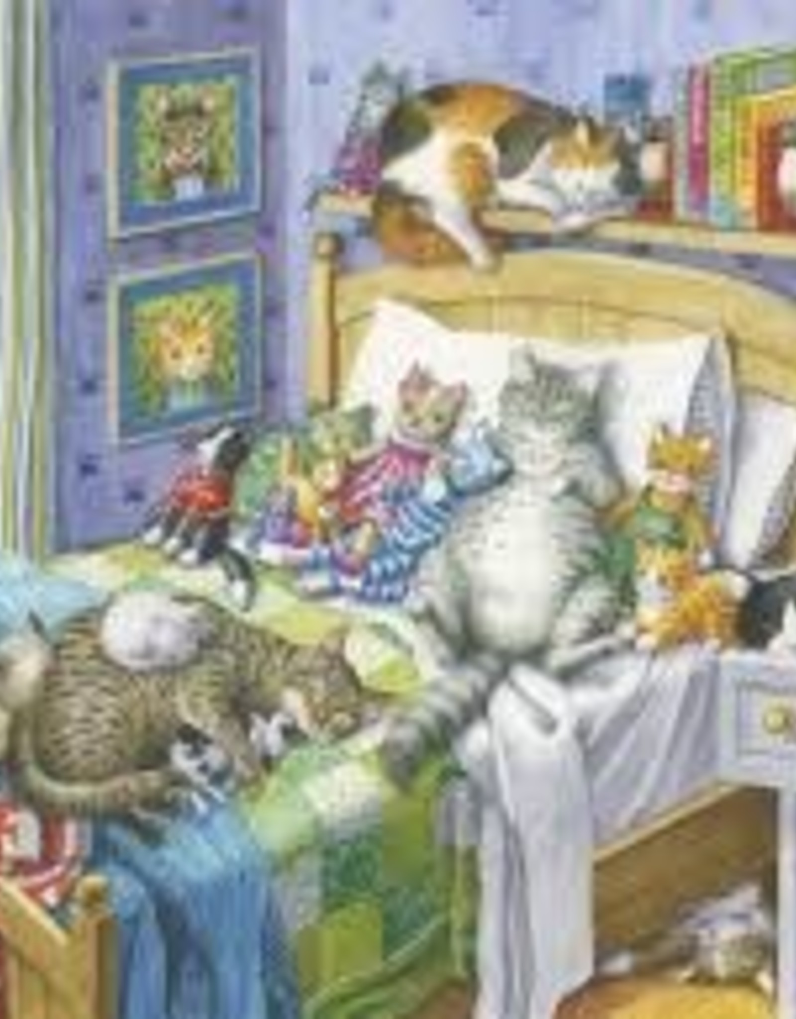 Ravensburger 500pc LF puzzle Cat Nap
