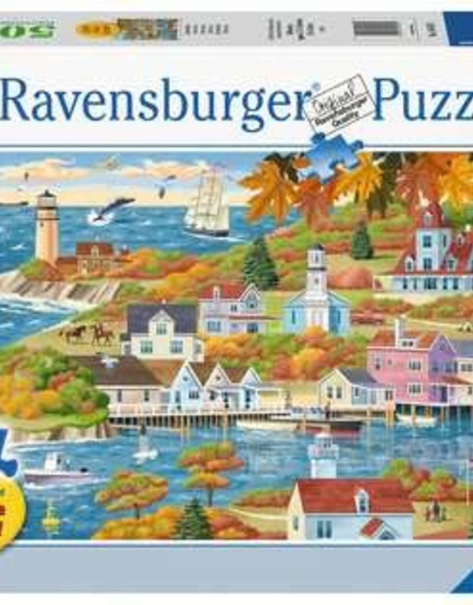 Ravensburger 500pc LF puzzle By Land & Sea