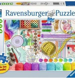 Ravensburger 500pc LF puzzle Needlework Station