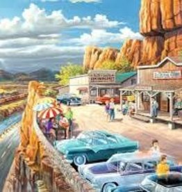 Ravensburger 500pc LF puzzle Scenic Overlook