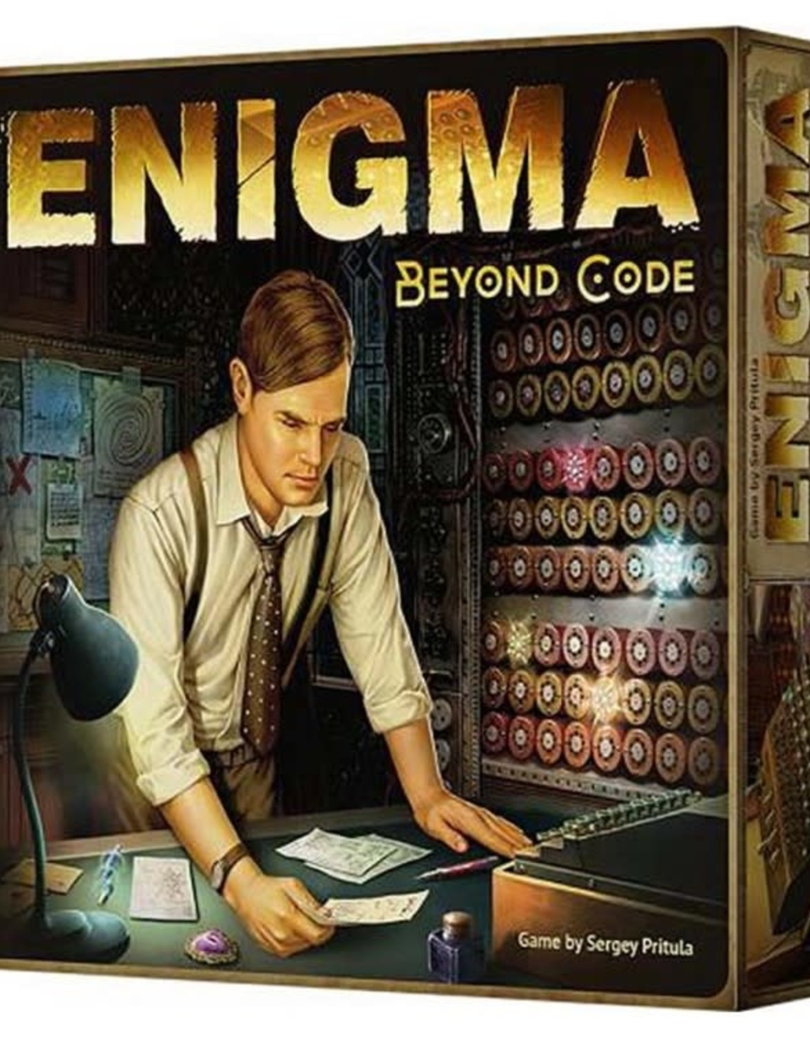 RENTAL - Enigma: Beyond Code 1 lb 7.4 oz