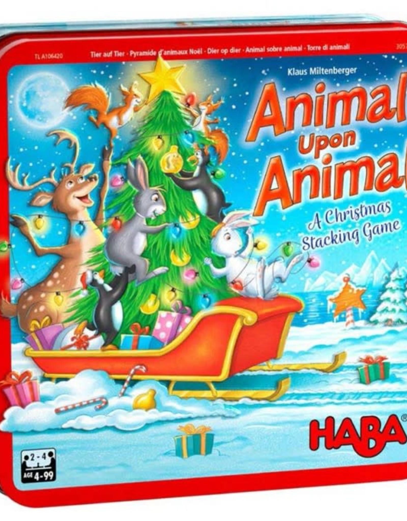 HABA Animal Upon Animal Christmas
