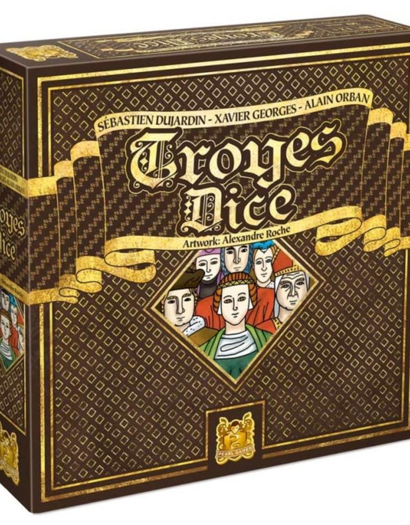 RENTAL - Troyes Dice 1 lb 8.7 oz