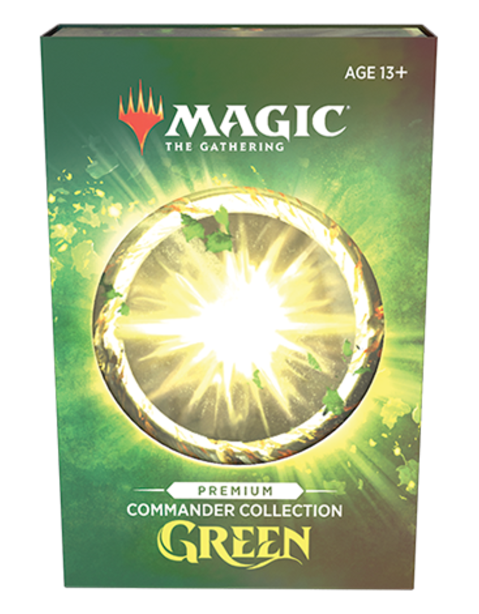 Wizards of the Coast Commander Collection: Green Premium Foil [Preorder]