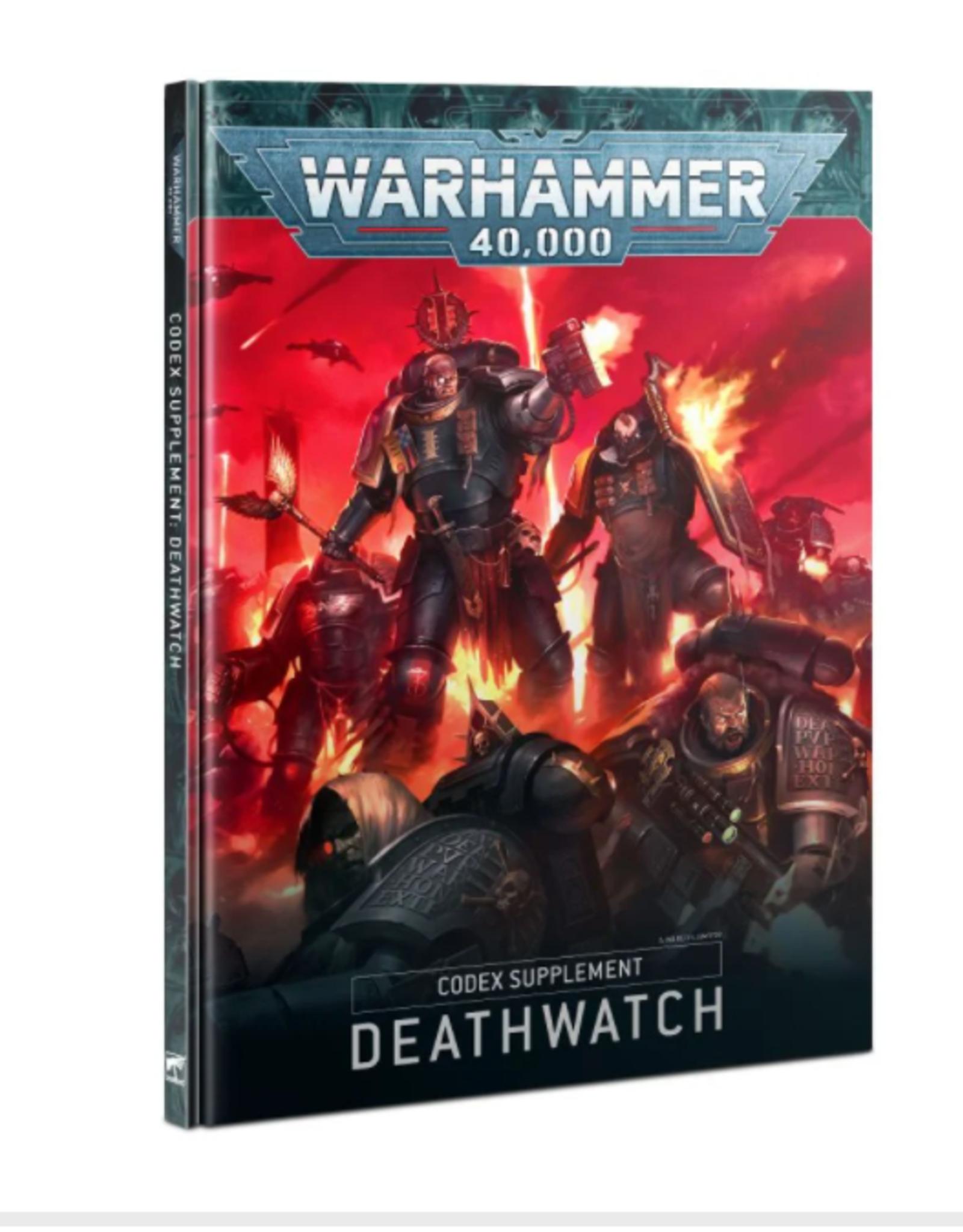 Games Workshop CODEX: DEATHWATCH (HB) (ENGLISH)