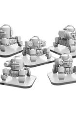 Privateer Press Monsterpocalypse: Zerkalo Bloc WW82s (4) & Propo Walker (1) Unit