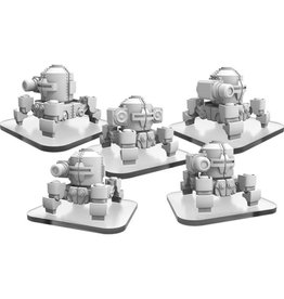 Privateer Press Monsterpocalypse: Zerkalo Bloc WW82s (4) & Propo Walker (1) Unit