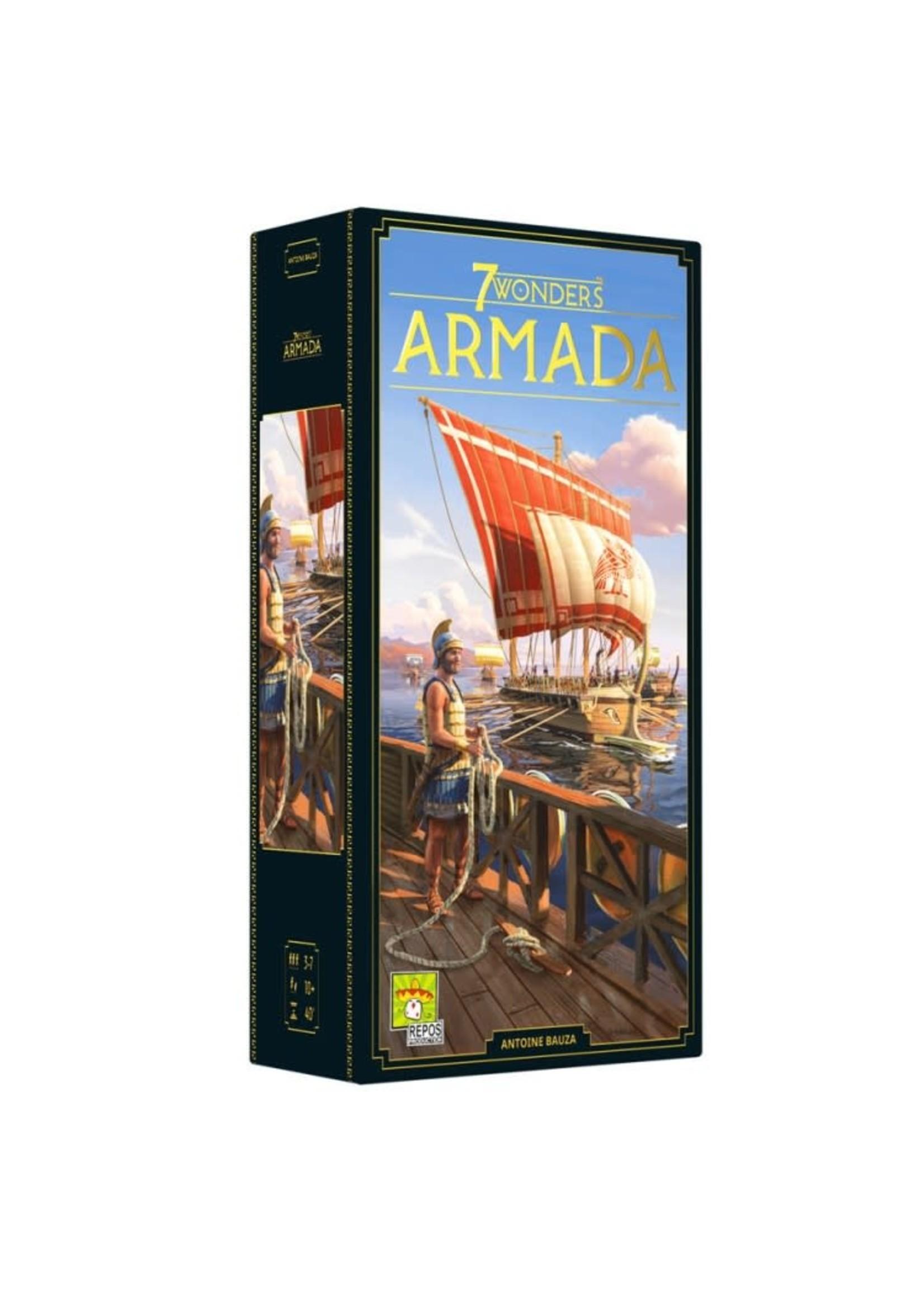 Asmodee 7 Wonders: Armada (New Edition)