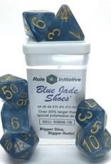 Roll 4 Initiative 7-Set: Blue Jade Shoes