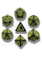 Q-Workshop QW Dragon's Black/Yellow Dice