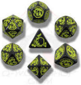 Q-Workshop QW Dragon's Black/Yellow Dice