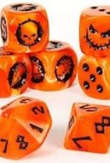 Games Workshop Blood Bowl: Necromantic Horror Team Dice Set