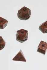 Crystal Caste 16mm Red Goldstone - large 7 set (black numbers)