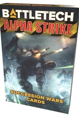 CATALYST GAME LABS Battletech: Alpha Strike: Succession Wars Cards