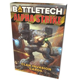 CATALYST GAME LABS Battletech: Alpha Strike: Clan Invasion Cards