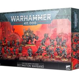 Games Workshop Battleforce 2020 Chaos Space Marines Decimation Warband