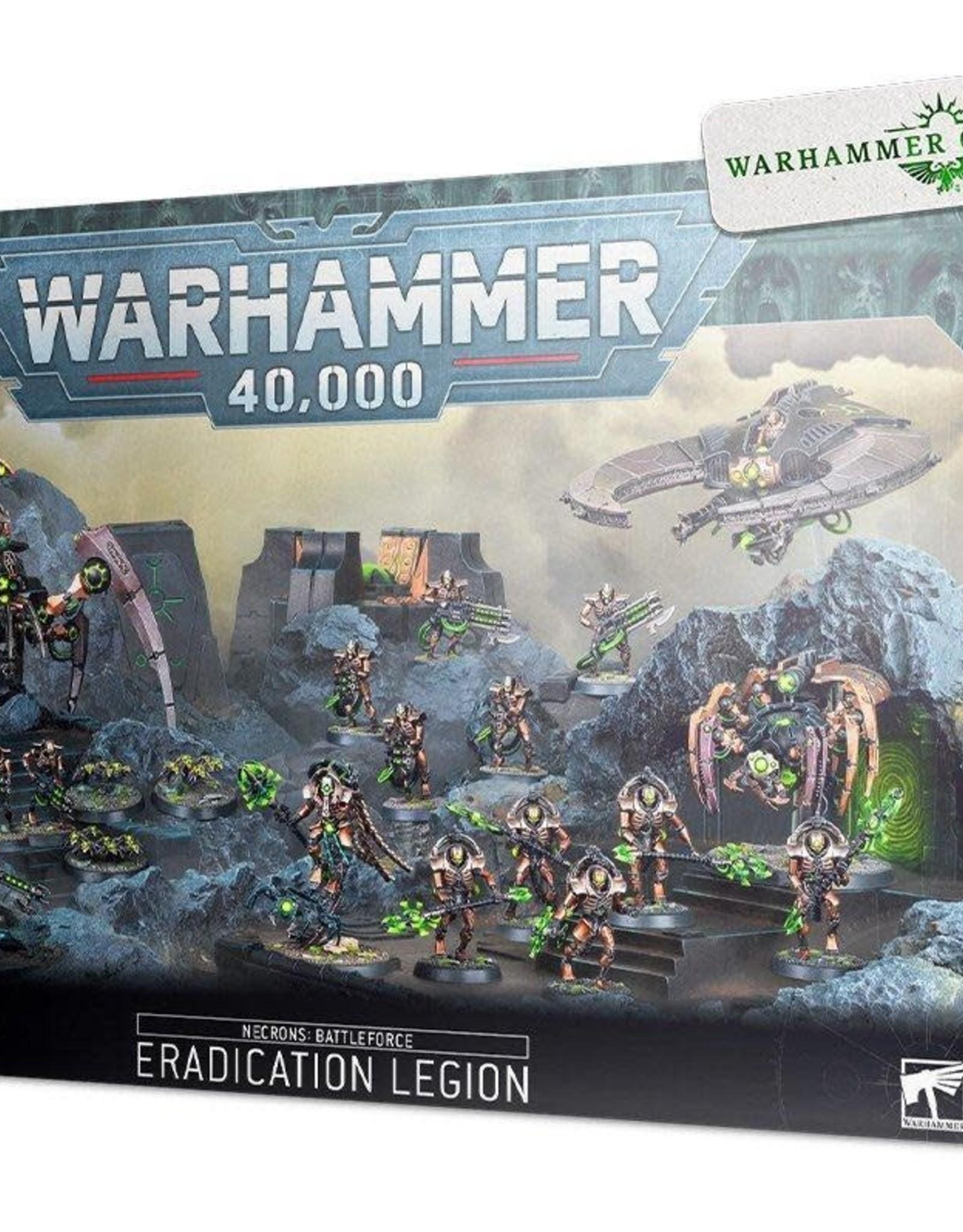 Games Workshop Battleforce 2020 Necron Eradication  Legion [Preorder]