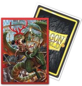 Arcane Tinmen Dragon Shield Art Brushed: Christmas Dragon 2020