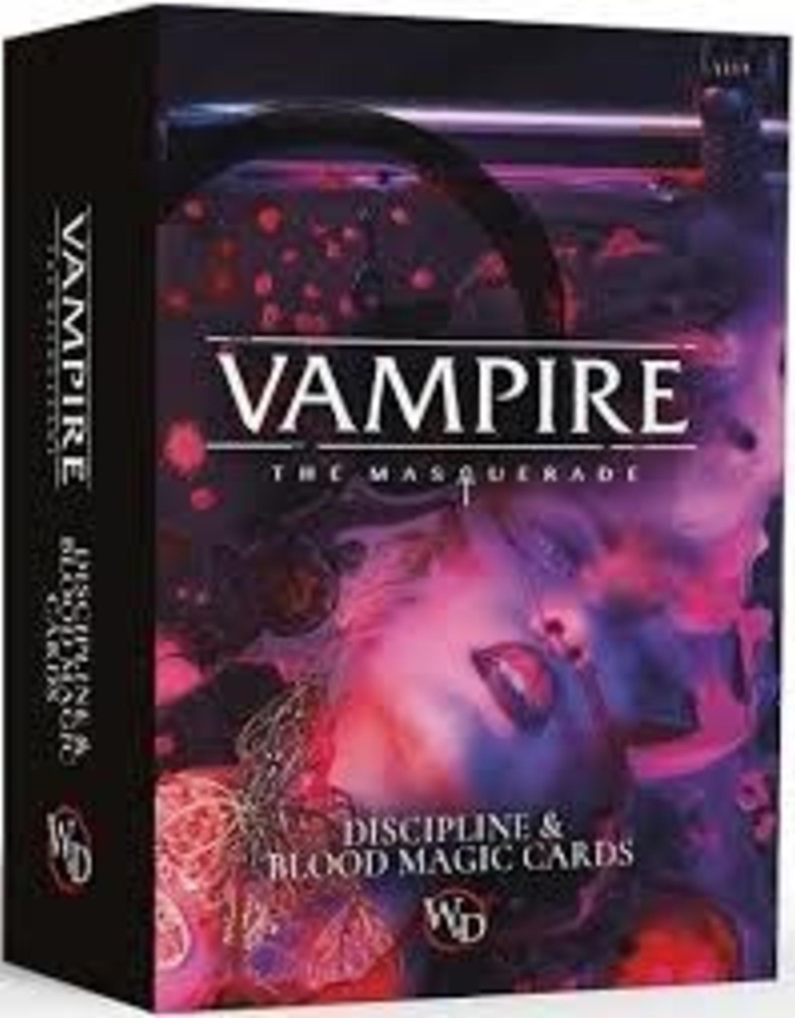 Modiphius Entertainment Vampire RPG: Discipline & Blood Magic Deck
