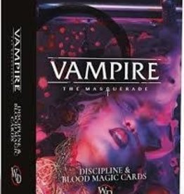 Modiphius Entertainment Vampire RPG: Discipline & Blood Magic Deck