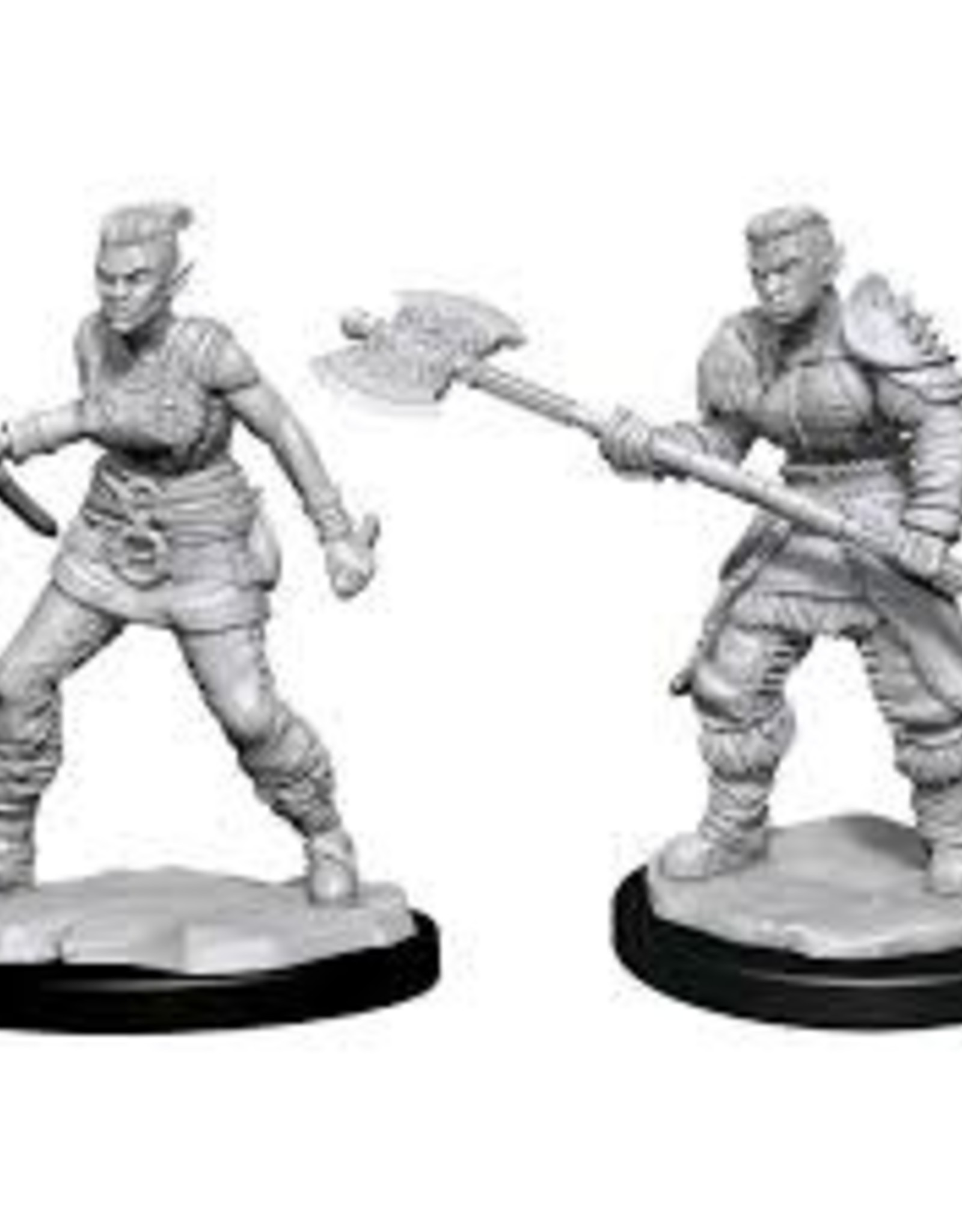 WizKids D&D Nolzur Orc Barbarian (She/Her/They/Them)