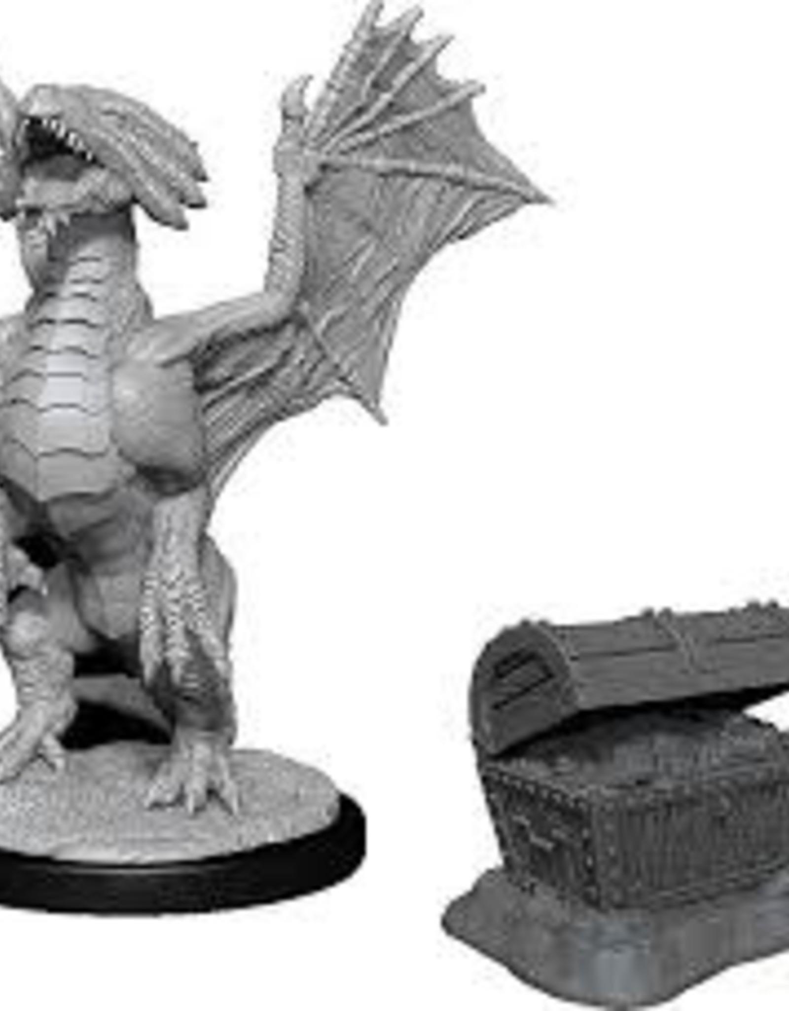 WizKids D&D Nolzur Bronzed Dragon Wyrmling & Sea Treasure