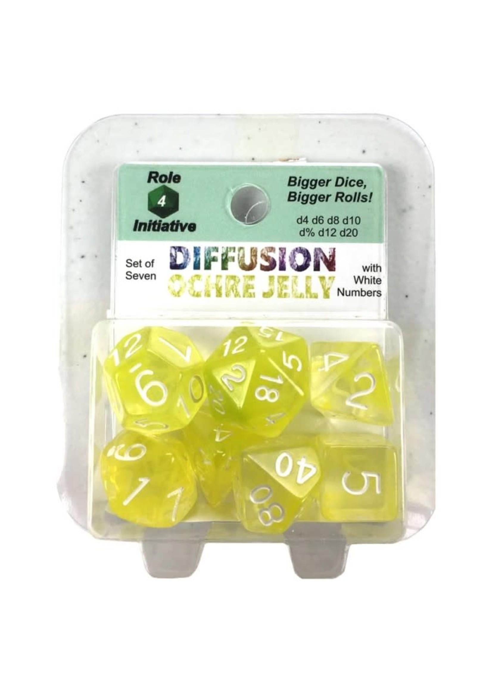 ROLE 4 INITIATIVE 7-set Diffusion OCHRE JELLYwh