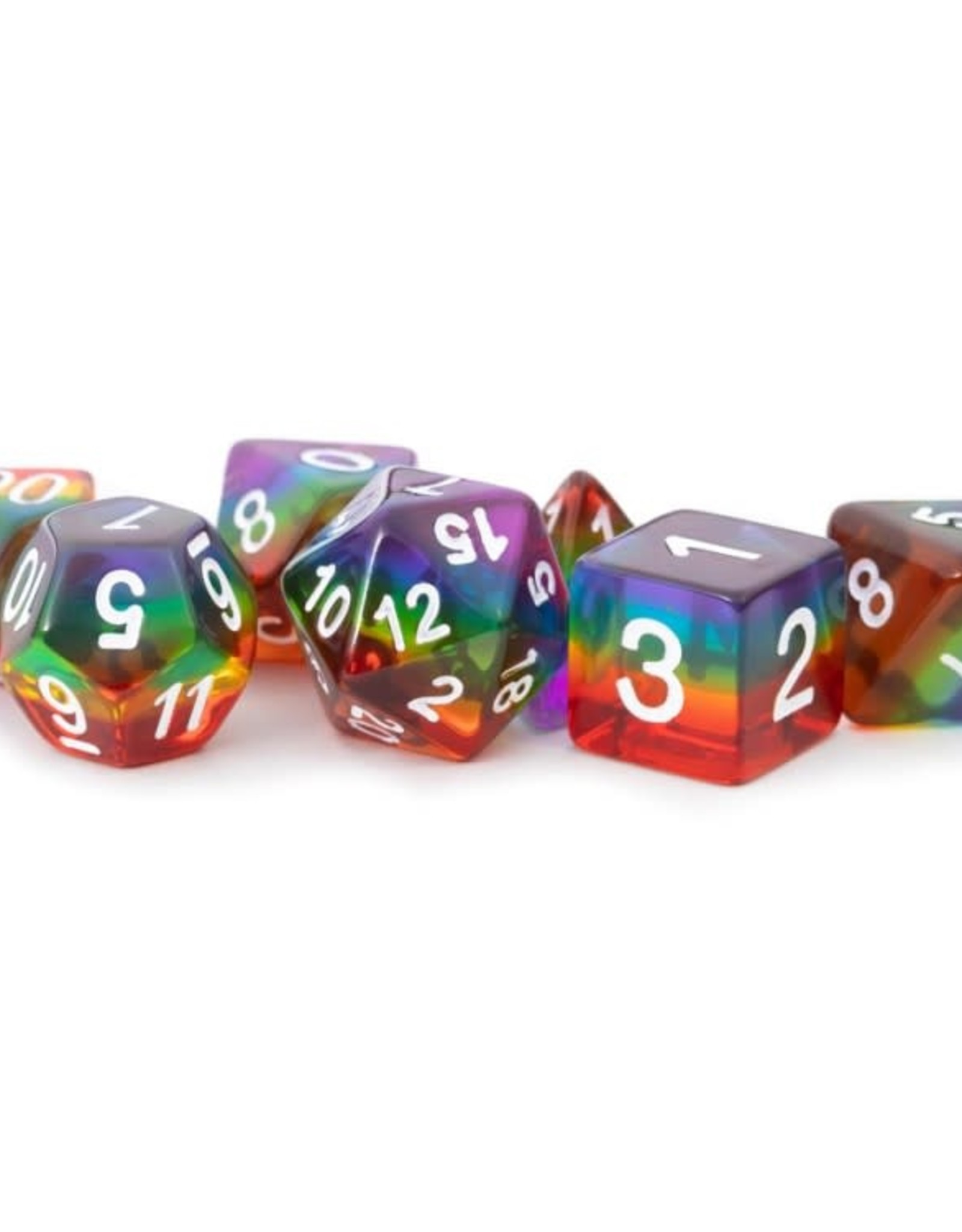 metallic dice games 7-Set: TR RBWwh