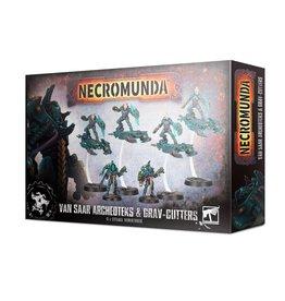 Games Workshop Necromunda: VAN SAAR ARCHEOTEKS & GRAV-CUTTERS