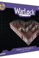 WizKids WarLock Tiles: Town II: Plaster Walls