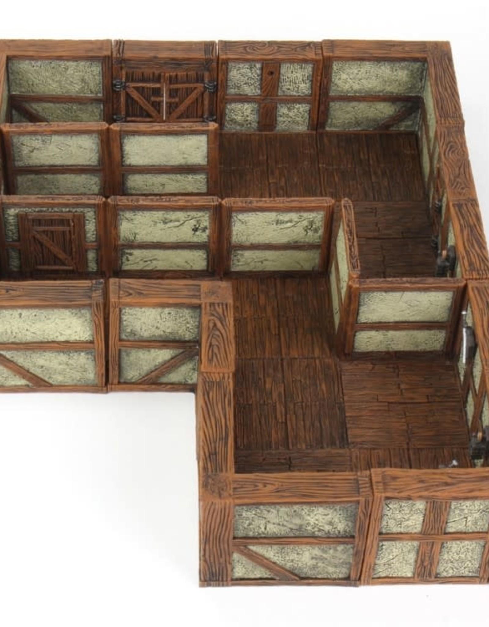 WizKids WarLock Tiles: Town II: Plaster Walls Expansion
