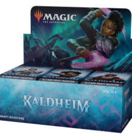Wizards of the Coast Kaldheim Draft Booster Box - Prerelease Delivery [Preorder]