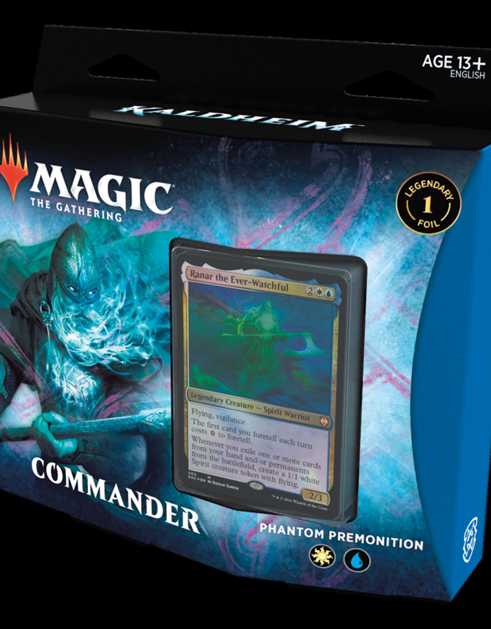 Wizards of the Coast Kaldheim Commander Deck - Phantom Premonition