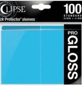 Ultra Pro Deck Protectors: Eclipse Gloss: Sky Blue (100)