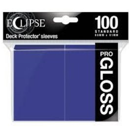 Ultra Pro Deck Protectors: Eclipse Gloss: Royal Purple (100)